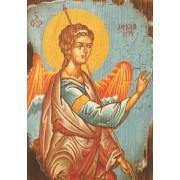 Ξύλινο καδράκι - Αρχάγγελος Μιχαήλ Α3